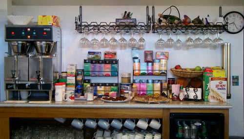Snack Counter at Wild Strawberry Lodge