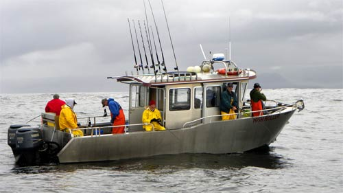 Best Fishing In Sitka Boat