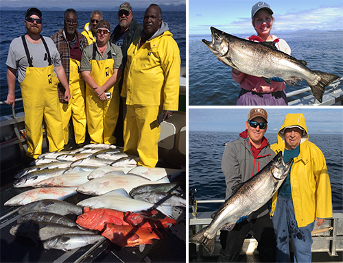 6 10 2016 Working hard to find those kings halibut