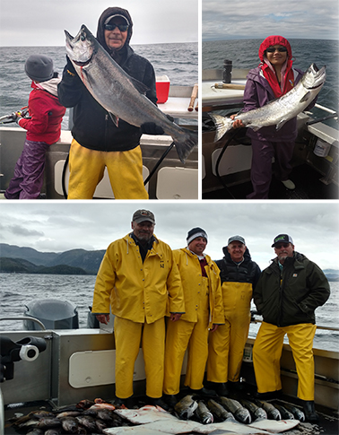 6 3 2016 King salmon in the boat is a job well done