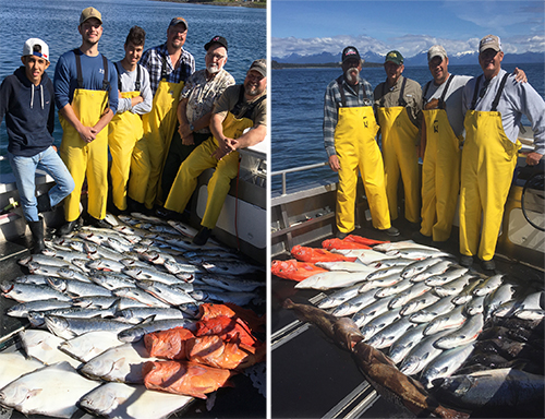 7 12 2016 Fabulous fishing frenzy in Sitka Alaska
