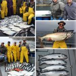 7-17-2016 Captured all 5 salmon species today for a grand slam