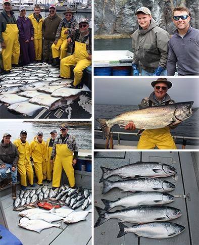 7 17 2016 Captured all 5 salmon species today for a grand slam