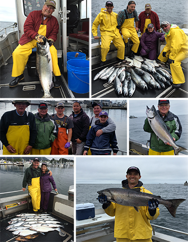 7 9 2016 Hard work is rewarded with fine catches of fish