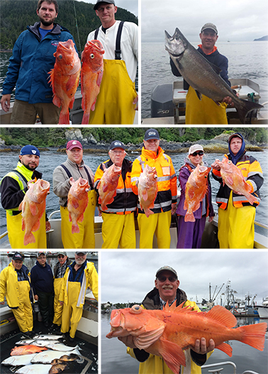 8 13 2016 Big bottomfish a big king big weather
