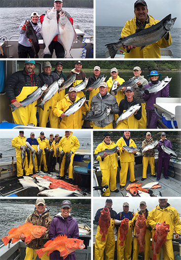 8 23 2016 Salmon and Bottomfish Bonanza