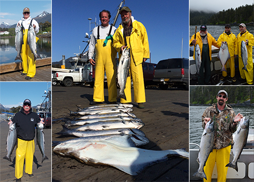 5 19 2015 Slammin the salmon in the sun