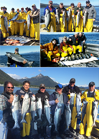 5 24 2015 Nothing beats a whole lot of king salmon and sunshine