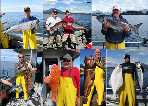 6 14 2015 Happy fishermen with their kings resident lings