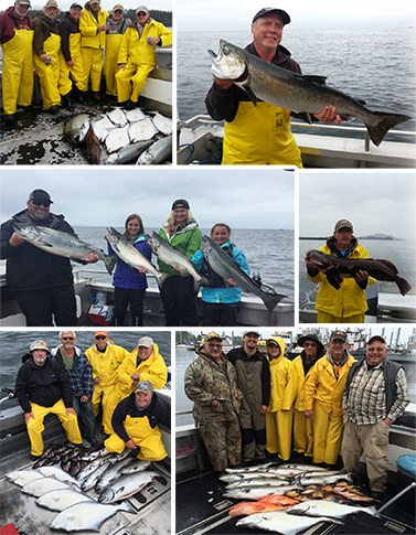 7 30 2015 Were all misty about our kings halibut