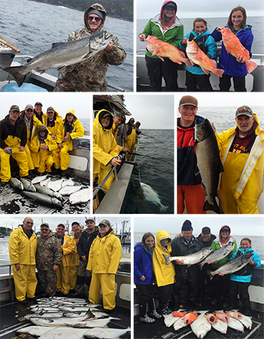 7 31 2015 Beautiful kings a variety of bottomfish