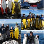 9-4-2016 King Salmon Halibut and monster cohos rule the day