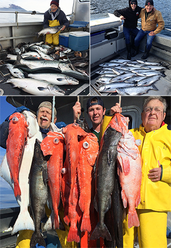 9 8 2015 The weatherman was wrong we caught a lot of fish