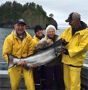 Sitka Alaska, King Salmon