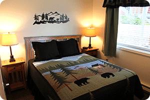 Wild Strawberry Suite Alaska Theme Bedroom