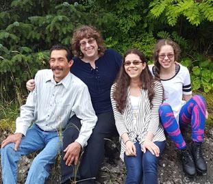 Johnny, Theresa, Karina & Kiana