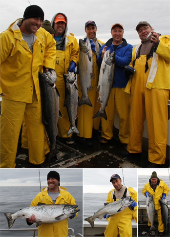 05 18 2011 Guys 8 Sea Lions 4 The Beelers had a great king salmon fishing day