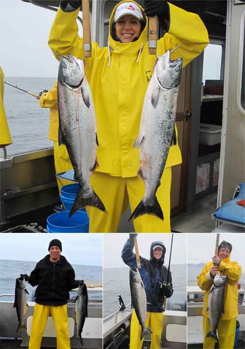 05 20 2011 Grey waters great King Salmon fishing