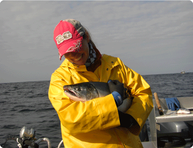 ladies who fish, women who fish, girls who fish, salmon, sitka, alaska, alaska fishing