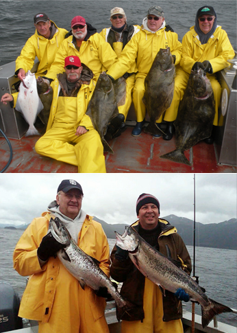 5 27 2012 Limit of halibut for Bishelli party Kings are still coming