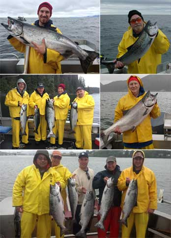 5 29 13 A nice King topped a very successful day of fishing