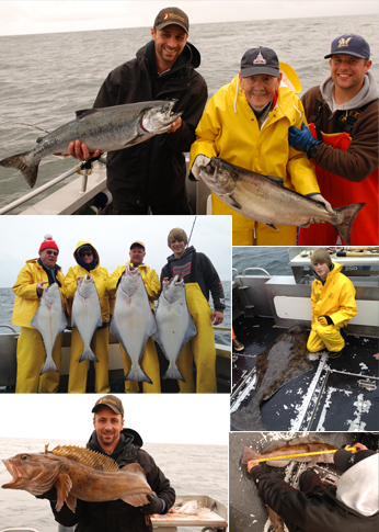 6 14 2012 Keepers and a Releaser in Sitka AK