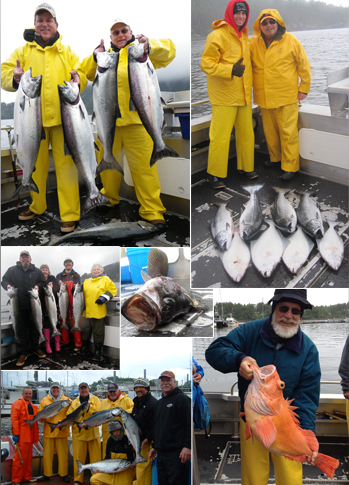 6 30 2012 Super King salmon fishing for everyone