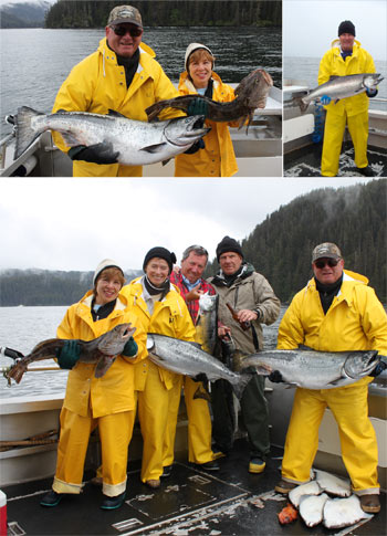 6 4 2011 The couples were right on top the Salmon