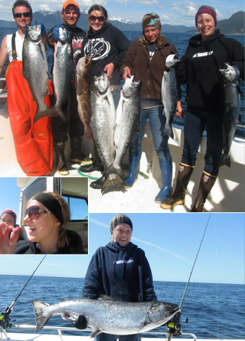6 4 2012 Beginners luck holds true for the staff fishing expedition with a 35 lb