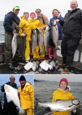 7 1 2011 Doubles and triples on King Salmon creates excitement on the boats