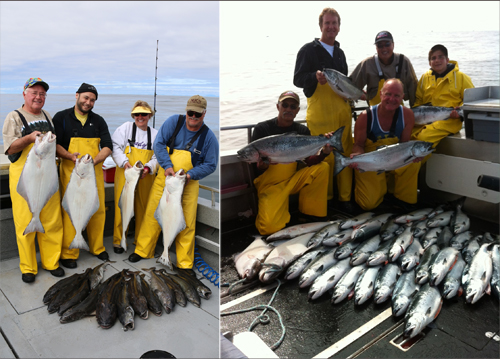 7 10 2014 Salmon halibut and black cod bonanza