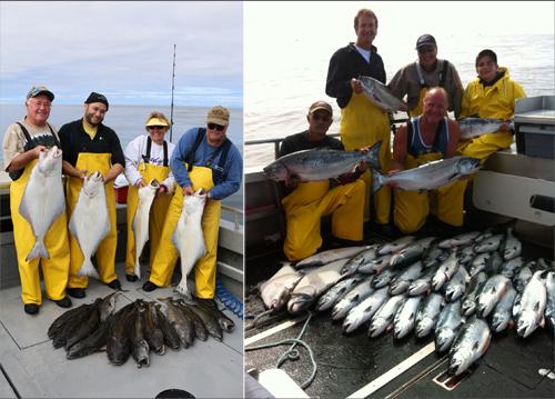 7 10 2014 Salmon halibut and black cod bonanza