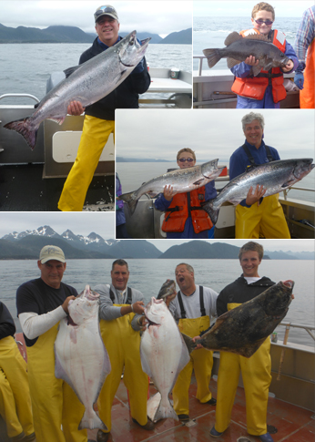 7 15 2012 Some perfect eater halibut kings and big rockfish