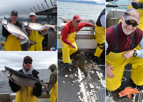 7 24 2012 Lots of releaser halibut today