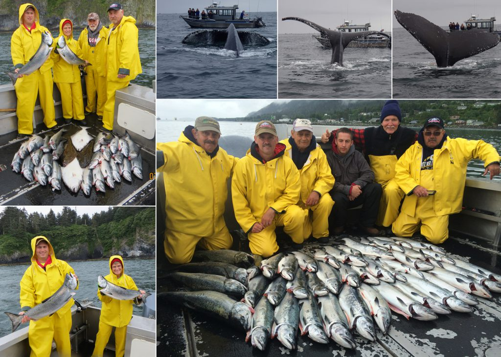 7 25 2014 Whales tails added to the fishing stories
