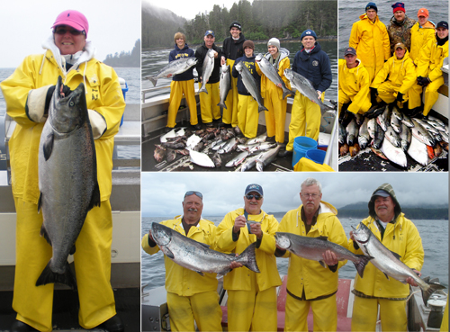 7 26 2011 King Salmon ranging from teens to 34 lbs