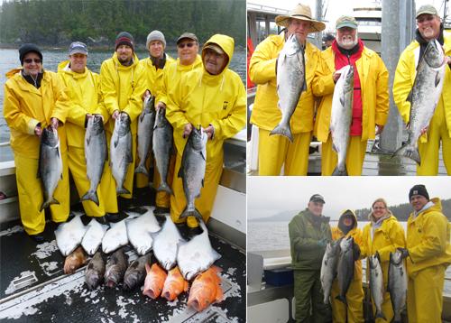 7 7 2012 Rough seas with plenty of fish
