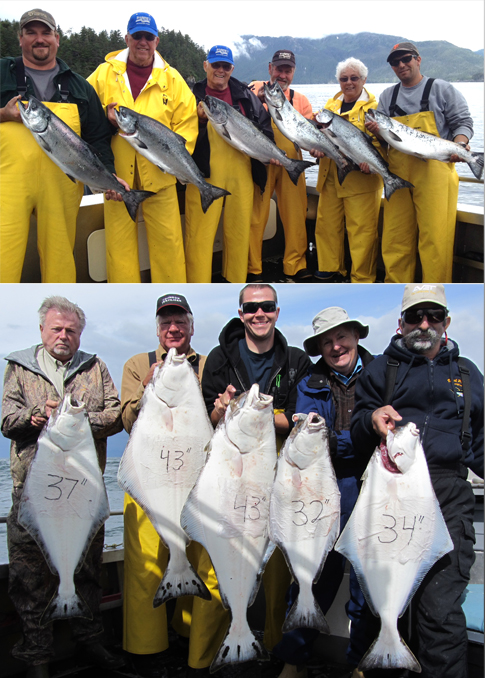 8 1 2012 A limit of kings and a limit of halibut