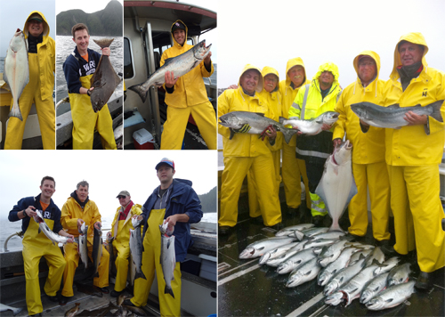 8 10 2014 It was another wet wild windy day we still caught fish