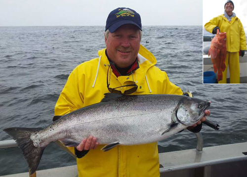 8 11 2012 Big fish in Sitka equals big fun