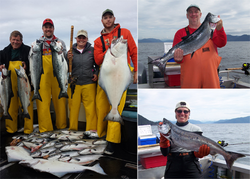 8 22 2014 Successful King and Silver fishing today