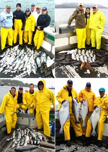 8 4 13 Rain didnt keep people or fish off the boats