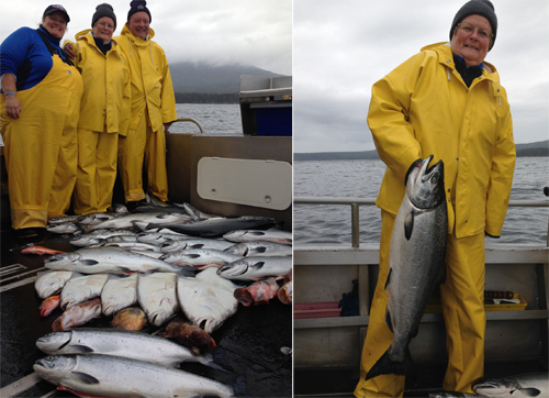 9 3 2014 Large shiny September silvers great bottom fishing