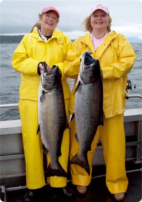 ladies salmon fishing, sitka alaska, alaska fishing, salmon fishing, girls who fish, alaska salmon, women fishing