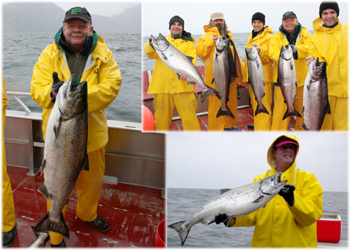 06 22 2010 All salmon all the time in Sitka the fishing is prime