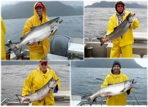 06 30 2010 It is a focus on king salmon on todays rainy waters