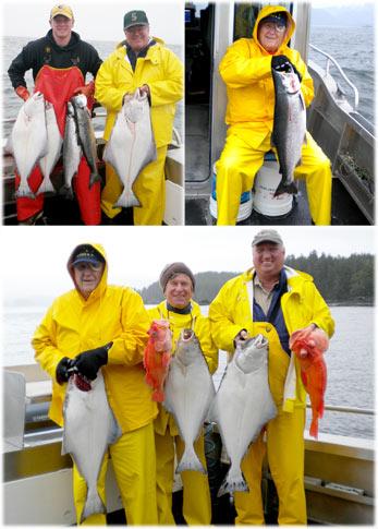 08 23 2010 Ocean fishing brings in halibut salmon and rockfish