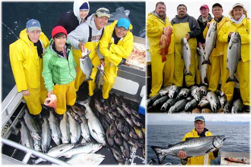 08 28 2010 Salmon rule the day for todays catch