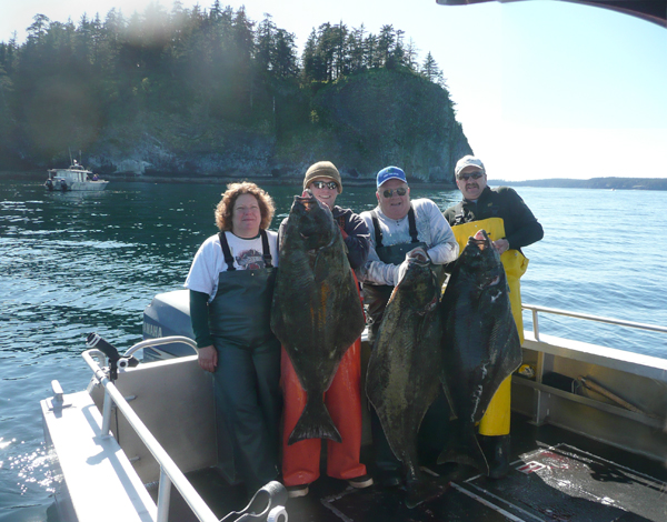 05 19 2009 Another great day of halibut fishing and great weather