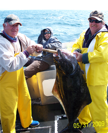 05 31 2009 Three Men and a Halibut